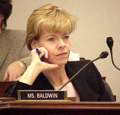 Tammy Baldwin, the first openly gay senator.