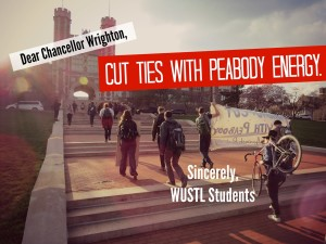 Why We're Sitting in at Wash U (and Why We're Not Leaving)