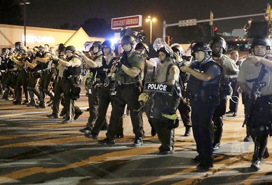 An International Look at Ferguson