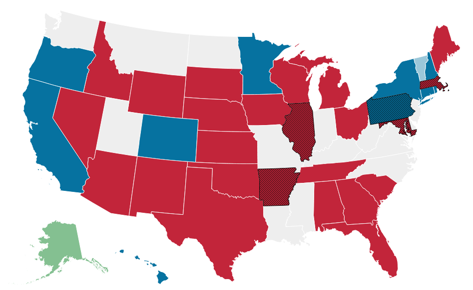 Why Blue States Elect Red Governors
