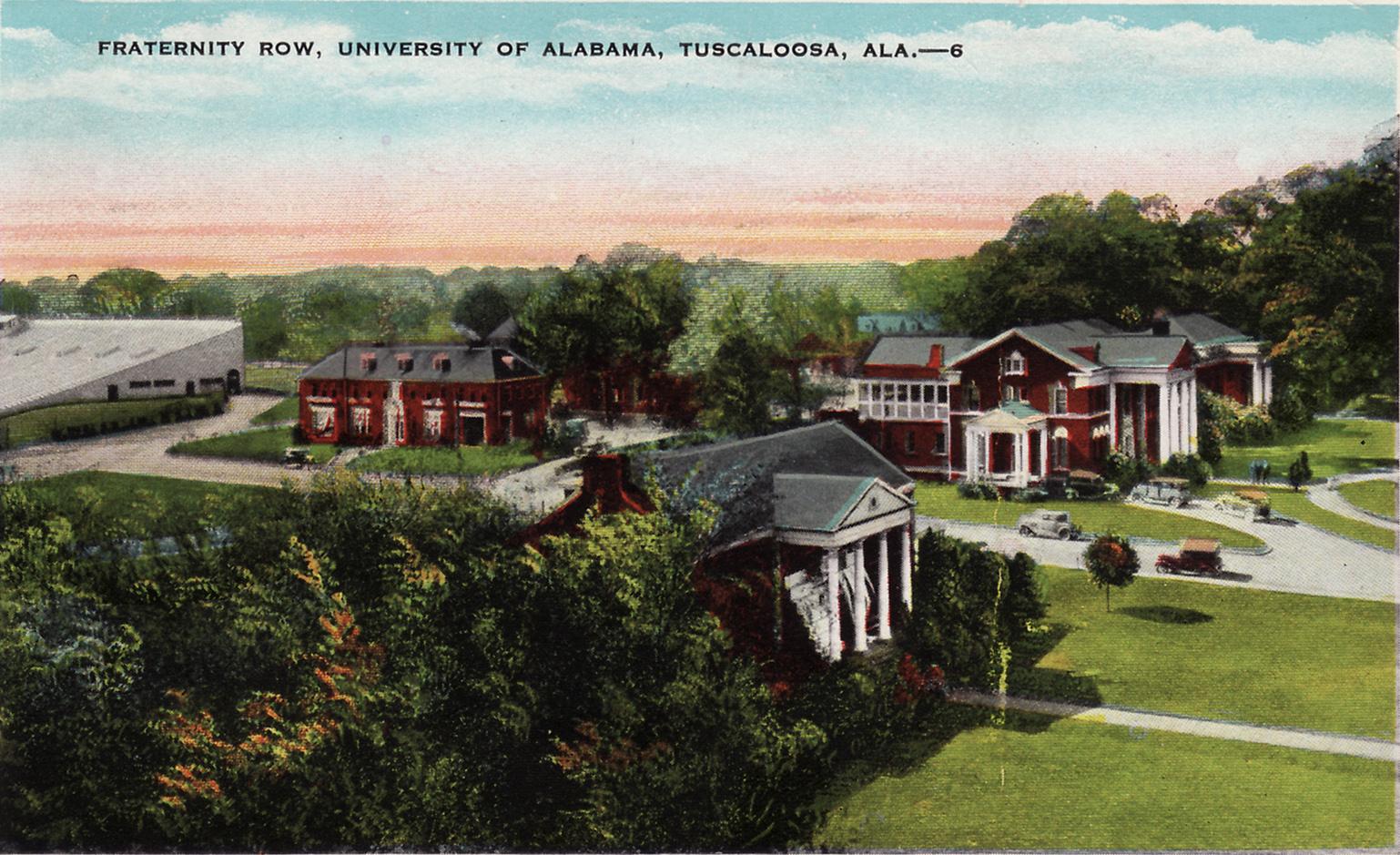 Alabama_Frat_Row